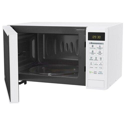 Микроволновая печь LG MS20R42D, 20л, электронное управление, белая, цена за штуку, 311708