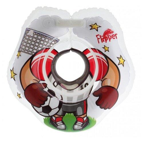 Круг на шею ROXY-KIDS для купания малышей Flipper футболист недорого