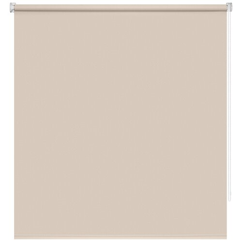 штора рулонная плайн 80х175 см кремовый Рулонная штора DECOFEST Плайн Мини (кремовый бисквит), 40х160 см
