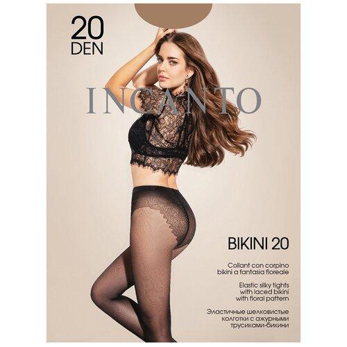 Колготки Incanto Bikini, 20 den, размер 2-S, daino (бежевый)