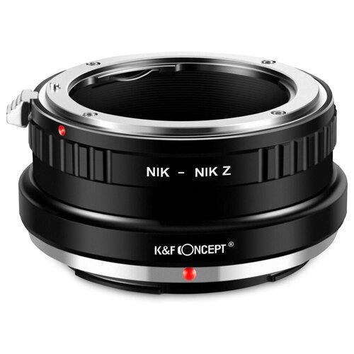 Фото - Адаптер K&F Concept для объектива Nikon F на Nikon Z KF06.372 f led