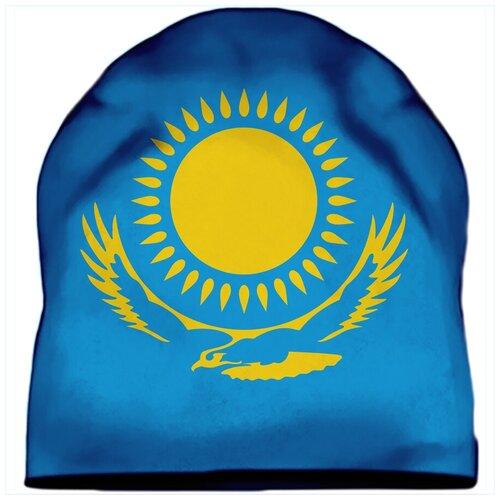 Шапка мужская Флаг Казахстана