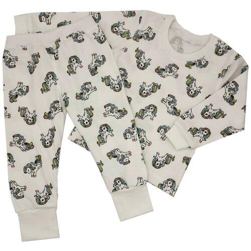 Пижама MilleFaMille размер 86-52, белый пижама double trouble белый оранжевый 86 размер