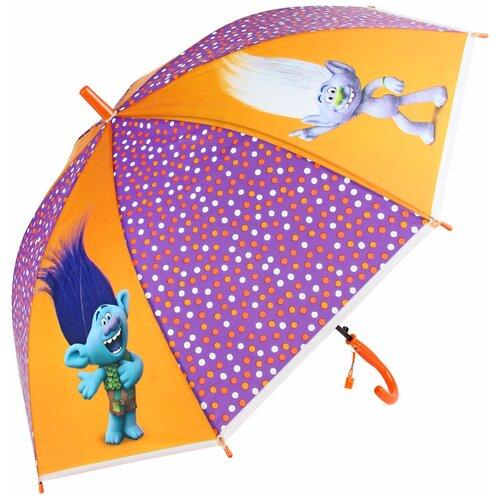 Зонт Amico сиреневый/оранжевый