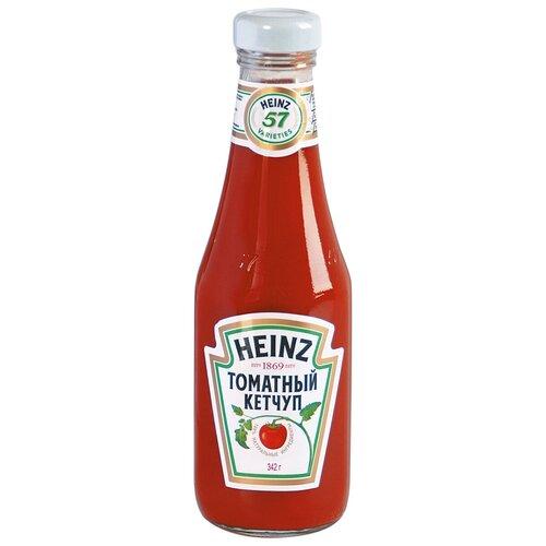Фото - Кетчуп Heinz Томатный, стеклянная бутылка 342 г кетчуп томатный heinz чеснок и пряности