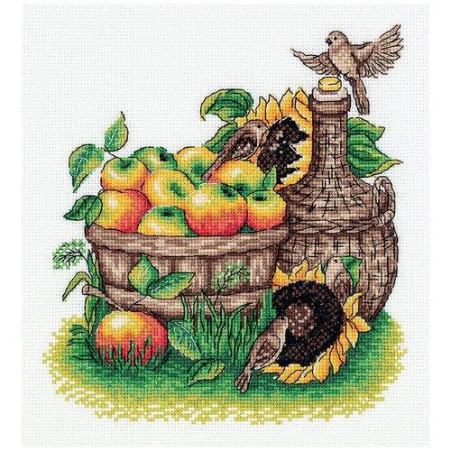 Купить Набор для вышивания KLART Урожай яблок 21x22 см, Наборы для вышивания