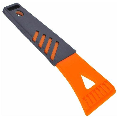 Фото - Скребок Airline AB-P-03 оранжевый/серый щетка скребок airline ab r 16 серый оранжевый