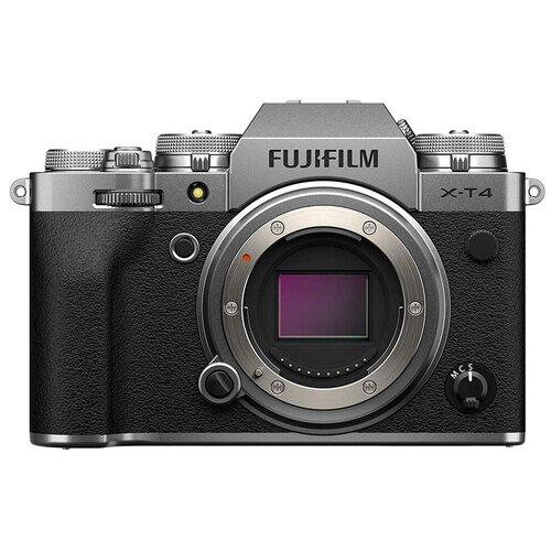 Фото - Фотоаппарат Fujifilm X-T4 Body серебристый фотоаппарат