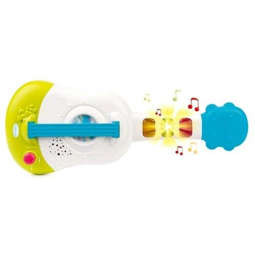 Smoby гитара Cotoons 110503 белый/голубой/зеленый