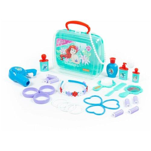 Салон красоты Полесье Disney Ариэль Стань принцессой! в чемоданчике (71071)