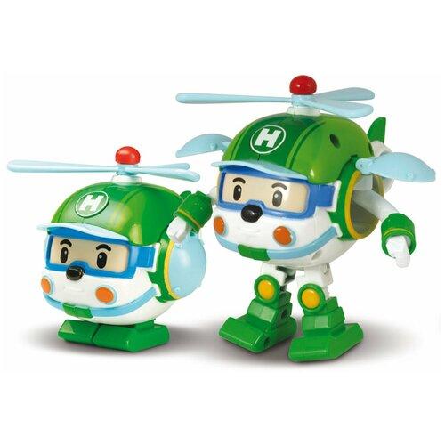 Купить Трансформер Silverlit Robocar Poli Хелли 7, 5 см, зеленый, Роботы и трансформеры