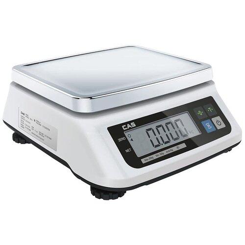 Весы торговые CAS SWN-6 весы торговые электронные cas er jr 30cb