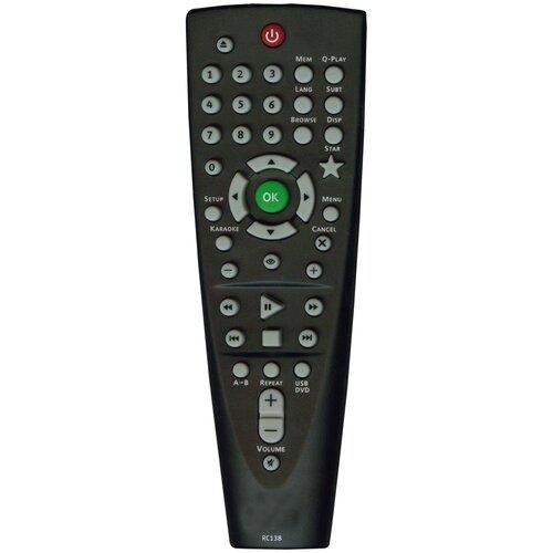 Фото - Пульт Huayu RC138 (RC-DVP101) для dvd-плеера пульт rc 49c dvd для tcl