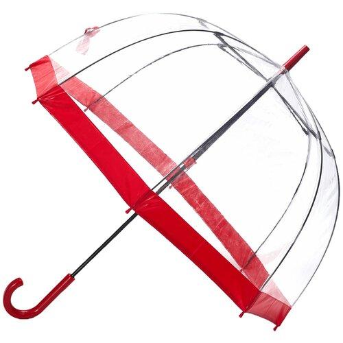 Зонт-трость механика FULTON Birdcage красный