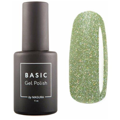 Гель-лак для ногтей Masura Basic, 11 мл, Свежие Стебельки гель лак для ногтей masura basic 11 мл саргассово море