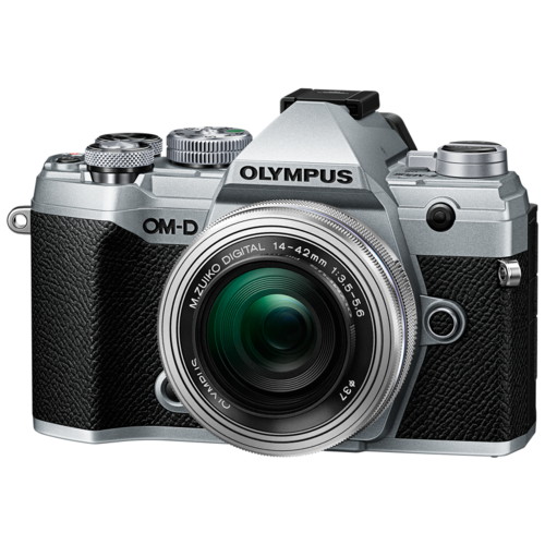 Фотоаппарат Olympus OM-D E-M5 Mark III Kit серебристый M.Zuiko Digital 14‑42mm F3.5‑5.6 II R