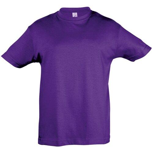 Купить Футболка детская REGENT KIDS 150 фиолетовая, на рост 130-140 см (10 лет), Sol's, Футболки и майки