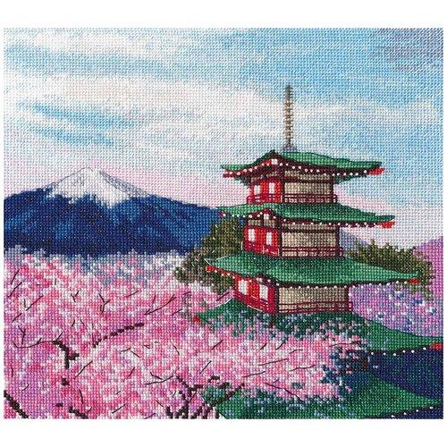 Купить Овен Набор для вышивания Пагода Чурейто 23 х 21 см (1366), Наборы для вышивания