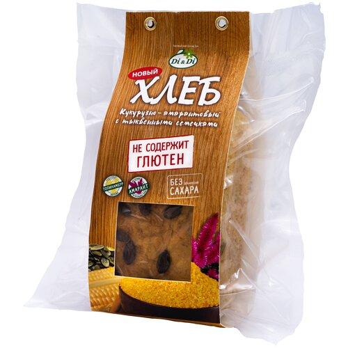 Ешь ЗдорОво Хлеб кукурузно-амарантовый с семенами тыквы безглютеновый, 1 шт./уп., 300 г