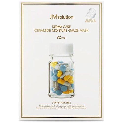 JM Solution увлажняющая тканевая маска Derma Care Ceramide Moisture Gauze с керамидами, 25 мл недорого