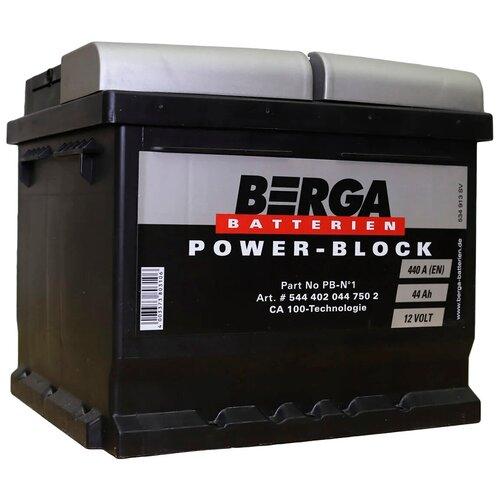 Автомобильный аккумулятор Berga PB-N1