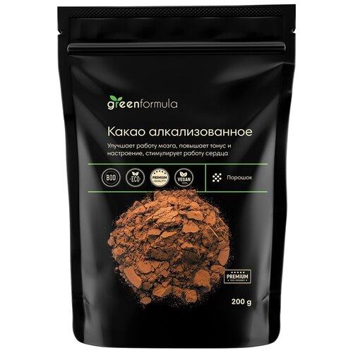 Какао-порошок Алкализованный (какао натуральное, алкализованное, для выпечки и домашнего шоколада), 200 грамм