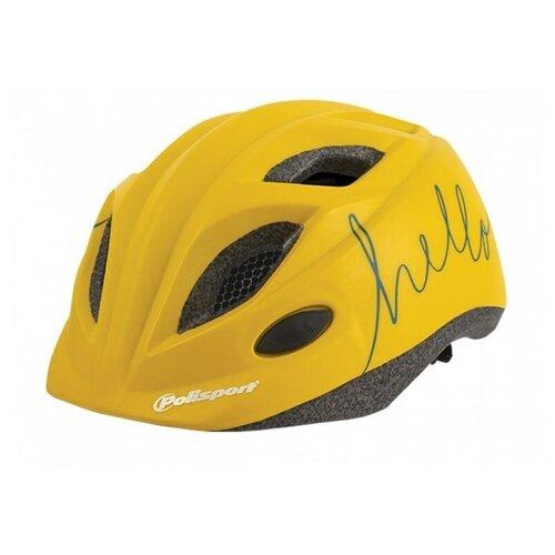 Фото - Велошлем детский Polisport JUNIOR HELLO S (52-56 cm) Желтый крылья комплект 20 24 polisport colorado junior