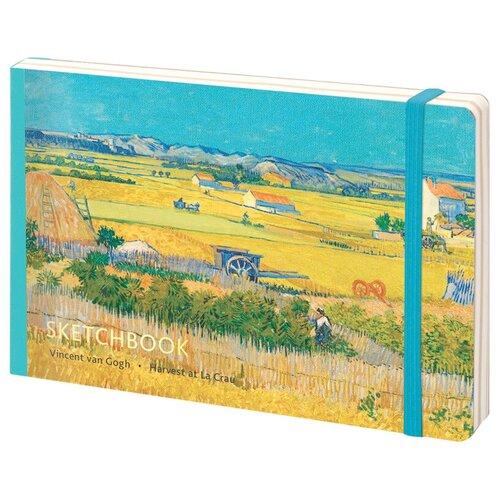 Купить Скетчбук Greenwich Line Van Gogh 21 х 14.8 см (A5), 100 г/м², 80 л., Альбомы для рисования
