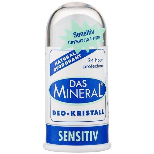 Das Mineral дезодорант, кристалл (минерал), Sensitiv Натуральный, 100 г