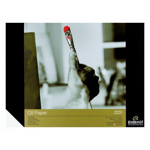 Фото - Альбом для масляных красок Royal Talens Rembrandt 32 х 24 см, 300 г/м², 10 л. альбом для акварели royal talens rembrandt 32 х 24 см 300 г м² 20 л