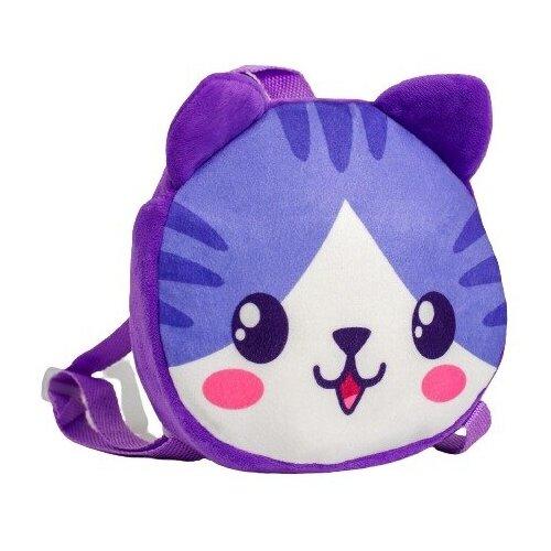 Рюкзак детский «Милая кошечка», плюшевый