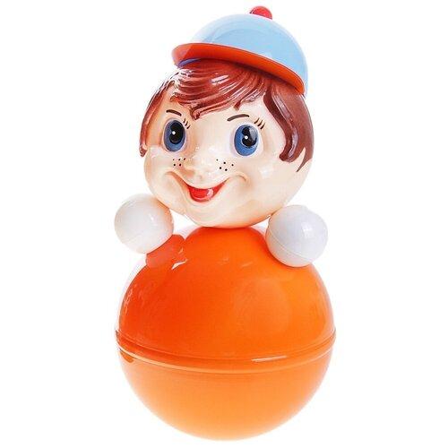 Неваляшка Котовские неваляшки Мальчик (6С-015) 41 см оранжевый