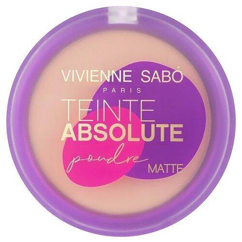 Vivienne Sabo компактная пудра Teinte Absolute матовая 04
