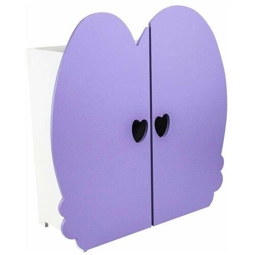 Купить PAREMO Шкаф для кукол (PFD120) сиреневый, Мебель для кукол