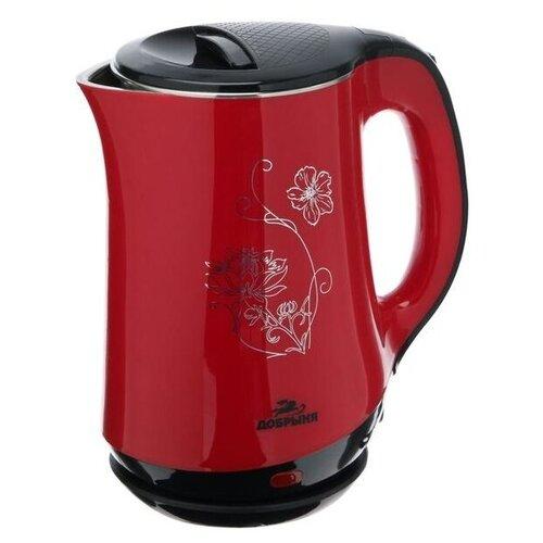 Чайник Добрыня DO-1244 красный