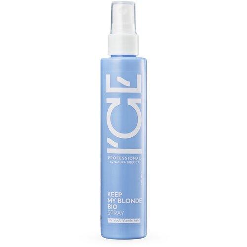 Купить ICE PROFESSIONAL by NATURA SIBERICA KEEP MY BLONDE SPRAY / Сыворотка - спрей для светлых волос, 100 мл, ICE by Natura Siberica