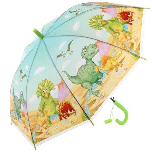 Зонтик Amico 118356 детский трость, длина 66см, диаметр 81см