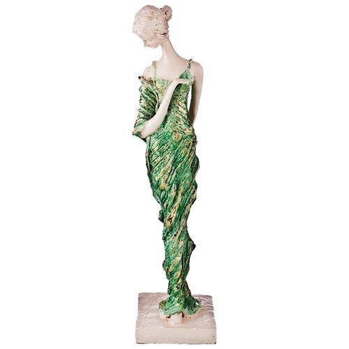 Фото - Статуэтка Lefard Пастель, 39 см бежевый/зеленый статуэтка lefard пастель 48 см белый зеленый