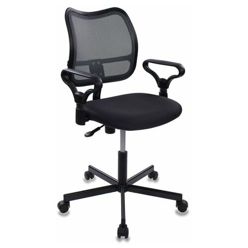 Компьютерное кресло Бюрократ CH-799M офисное, обивка: текстиль, цвет: серый TW-12 недорого