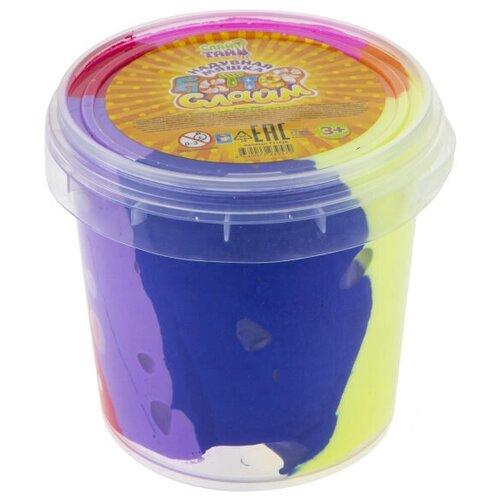 Слайм 1 TOY Баттер Слайм Т17826 желтый/розовый/синий бластер 1 toy слайм призрачный патруль т15832