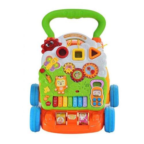 Каталка-ходунки everflo Happy Time (HS0349046) многоцветный everflo каталка everflo машинка smart car m001 pink