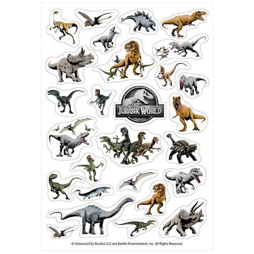 Бомбора Набор наклеек Динозавры Jurassic World