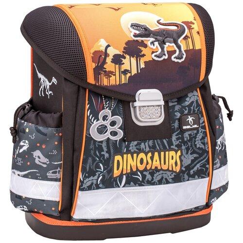 Купить Ранец Belmil Classy - Dino, Динозавр, коричневый, Рюкзаки, ранцы