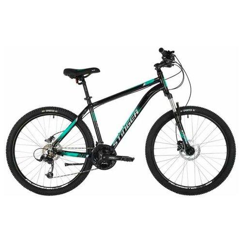 Горный (MTB) велосипед Stinger Element Pro 26 (2021) green 14 (требует финальной сборки) горный mtb велосипед kellys desire 90 2019 grey green m требует финальной сборки