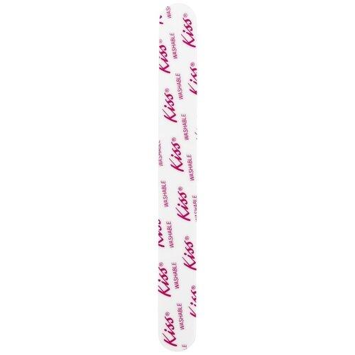 Купить KISS Пилка F206, 180/240 грит белый с надписью