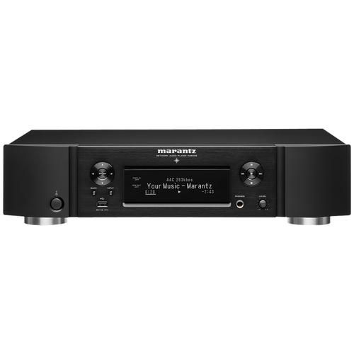 Фото - Сетевой аудиоплеер Marantz NA6006, черный сетевой аудиоплеер dsppa dm 838 серый