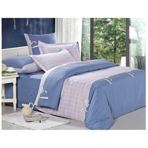 Фото - Постельное белье семейное СайлиД A-161, поплин, 70 х 70 см синий/розовый постельное белье stefan landsberg flicker семейное