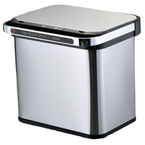 Ведро для раздельного сбора мусора, сенсорное, 2 емкости, Foodatlas JAH-8884, 18л (9+9) ведро для мусора держатель б полотенец foodatlas jah 543 6л белый