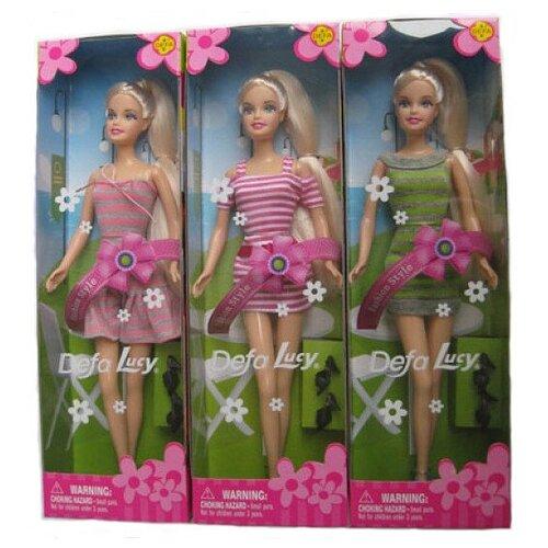 Кукла Defa Lucy Модница 6087 кукла defa lucy модница 29 см 8285