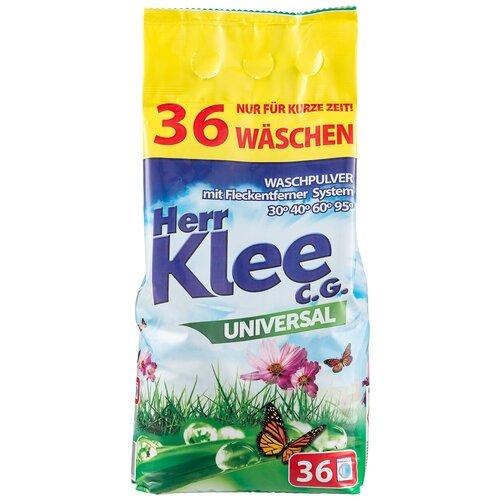 michael herr dispatches Стиральный порошок Herr Klee Universal универсальный, пластиковый пакет, 3 кг